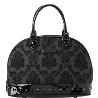 Rock Rebel GG Rose Midnight Damask Overnighter Bag