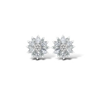 Daisy Heritage Earrings, Diamond | Asprey