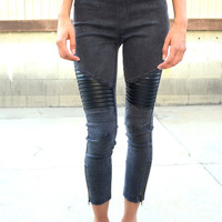 No Mercy Biker Jeggings | Shop Civilized