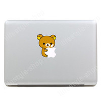 "Rilakkuma Relax Bear Tarepanda MacBook Air 11""13"" Pro Retina 13""15""17"" Decal"