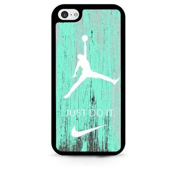 Nike Jordan Mint Wood iPhone 5C Case