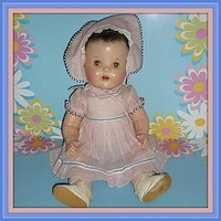 """Dee N Cee-20"""" Composition Baby Doll - All Original -1938-1944-Canadian (item #1294362)"""
