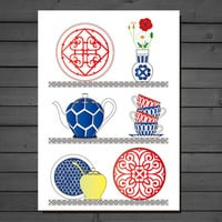 Kitchen wall decor - The French kitchen - Kitchen art