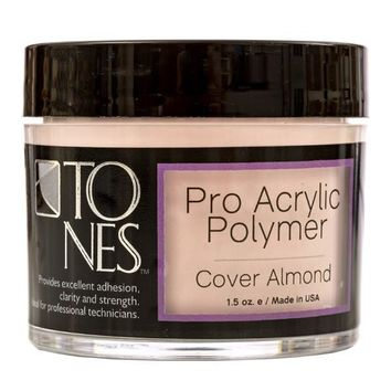Pro Acrylic Powder: Cover Almond | Polvo de Acrílico Professional: Cover Almond