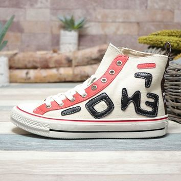 Fendi x Converse Chuck Taylor 1970s All Star Hi Top White - Best Deal Online