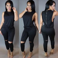 Beautiful Jumpsuit-Black
