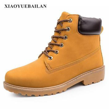 New Winter Boots Martin Men Shoes Trend Bulk Shoes Size Tooling Boots Boots