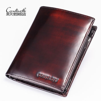 Men Leather Bags Vintage Wallet [9026566659]