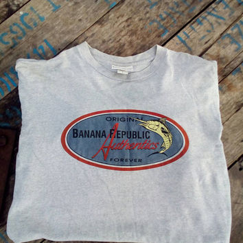 Banana Republic authentics original T-shirt vintage