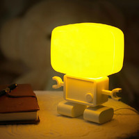 Colorful Bright Lamp Lights Bedside Lamp [6283258246]