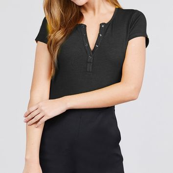 Be There Bodysuit - Black