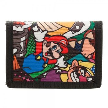 Nintendo Super Mario Foldable Wallet