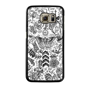 ONE DIRECTION TATTOOS Samsung Galaxy S6 Case