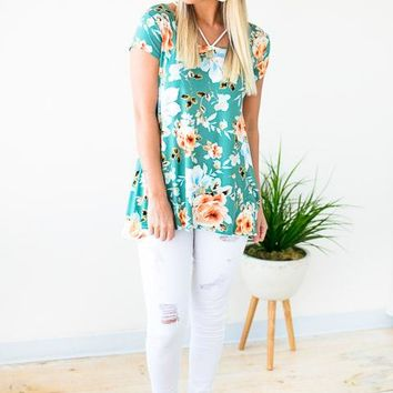 Happens Like That Floral Top