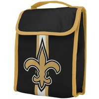 NFL New Orleans Saints Velcro Lunch Bag