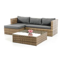 Midday Lounger Sectional Sofa Set