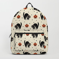 Scaredy Cat Backpack by therewillbecute