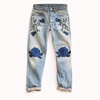 The Conjure Flower Denim