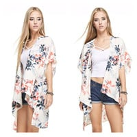 Take Me to the Tropics Floral Cardigan