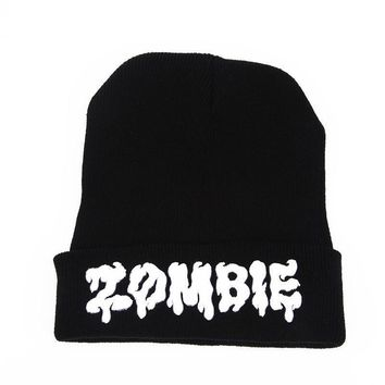 One-nice™ Perfect Embroidery Women Men Hip Hop Beanies Winter Knit Hat Cap