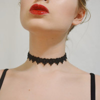 The Emily Victorian Lace Choker