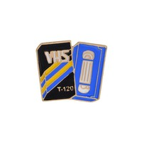 VHS Retro Enamel Pin