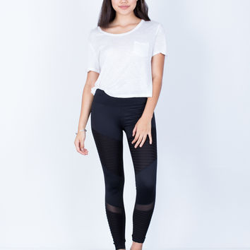 Mesh Lined Leggings