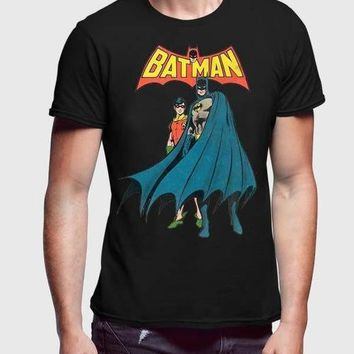 Batman Standing 2 Men T-Shirt