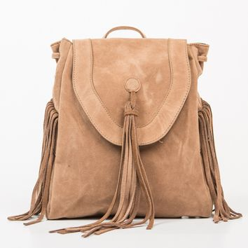 Native Fringed Backpack
