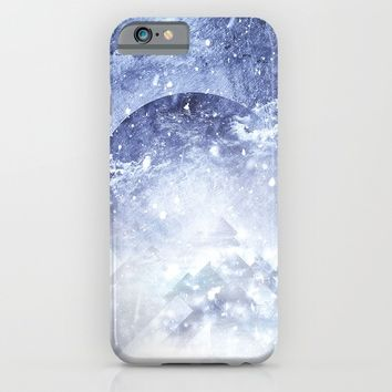 Even mountains get cold iPhone & iPod Case by HappyMelvin