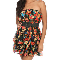 Tiered Ruffle Tube Dress   Shop Junior Clothing at Wet Seal