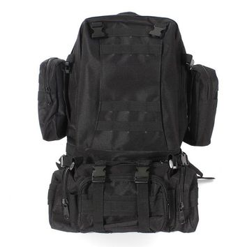 55L Military Style Tactical Backpack (4 colors available)
