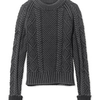 Women's Signature Cotton Fisherman Sweater, Washed | Free Shipping at L.L.Bean.