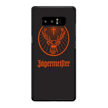 Jagermeister 2 Samsung Galaxy Note 8 Case