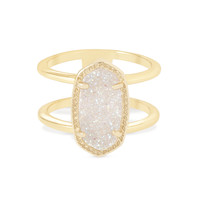 Elyse Double Band Ring in Gold | Kendra Scott Jewelry