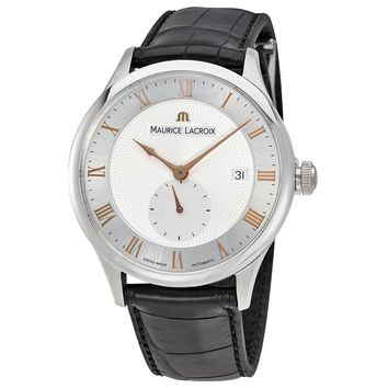 Maurice Lacroix Masterpiece Silver Dial Mens Watch MP6907-SS001-111