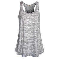Running Vests Jogging LASPERAL Women's Summer I-shaped Back Tanks Tops Running Gym Fitness Loose Elastic Breathable Vests Quick Dry Sleeveless Shirts KO_11_1