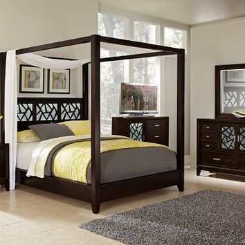esprit bedroom collection - value city from valuecityfurniture.co