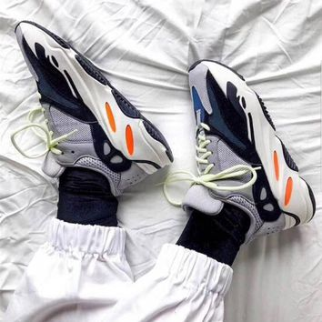 Adidas Yeezy 700 Runner Boost Retro Women Men Personality Running Sport Shoes Sneakers 1#