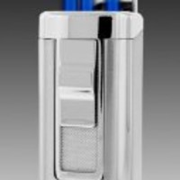 JetLine Houston Triple Torch Lighter (Chrome Silver)