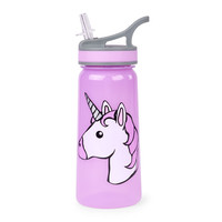 Girls Unicorn Graphic Water Bottle