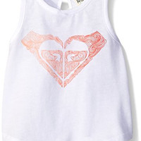 Roxy Girls' Mavericks Tank, Sea Salt, 12-18 Months