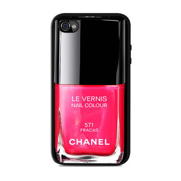 Chanel Nail Polish Fracas Unique Iphone 4S Cases