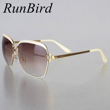 2017 Brand Designer Sunglasses Women D Frame Popular Fashion Shades Sun Glasses Infantil Oculos De Sol Feminino UV004 R547