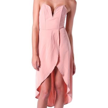 Breath Away Tube Dress - Pink