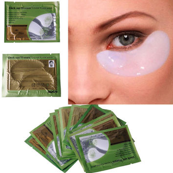 20 pcs=10 pair/lot Collagen Crystal Eye Masks Anti-aging,Anti-puffiness,Dark circle, Eyelid Anti wrinkle moisture Eyes Care