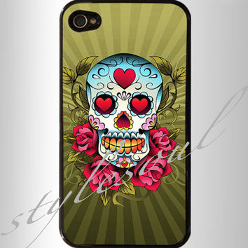 Day of the Dead iPhone 4 Case, iPhone 4s Case, iPhone 5 case,Samsung GALAXY S III