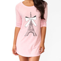 Eiffel Tower & Bow Nightdress
