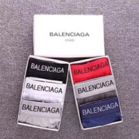 Balenciaga New hot sales fashion letter print men multicolor underwear three