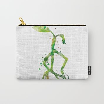 Pickett Bowtruckle Carry-All Pouch by MonnPrint